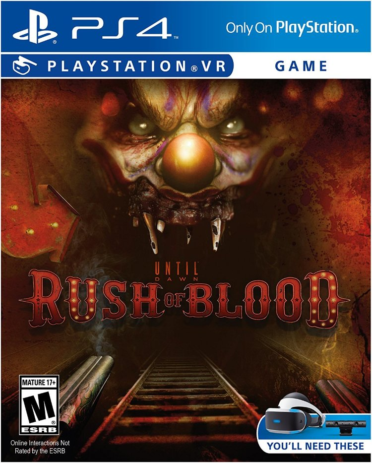 Rush of blood игра VR